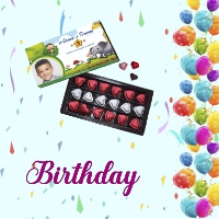 Buy Personalized Sweets Boxes | Chocolate Boxes for Birthdays - Mirchi