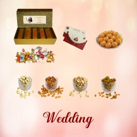 Buy Personalized Sweets Boxes | Dry Fruits Boxes for Weddings - Mirchi